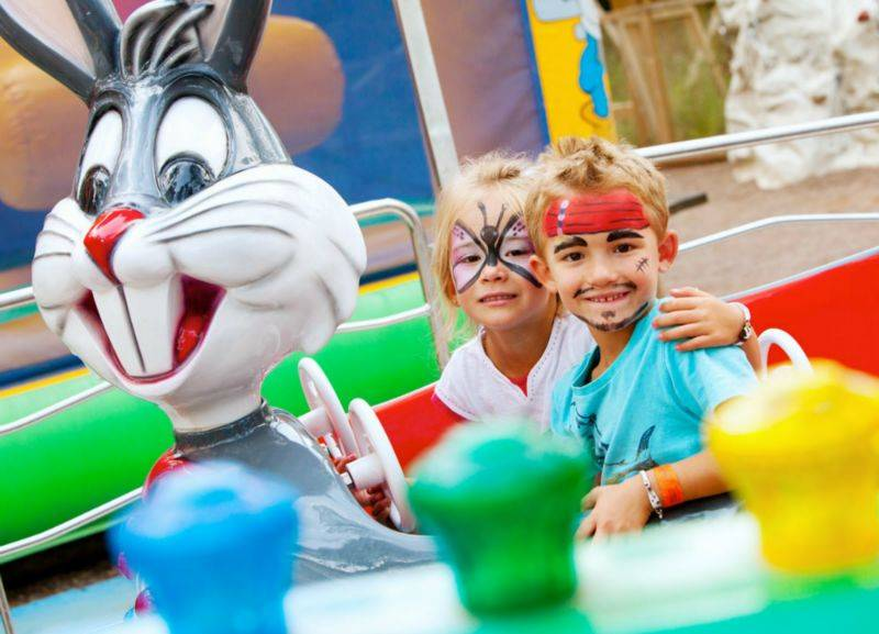 Camping Vendée : maquillage enfants animations vendee
