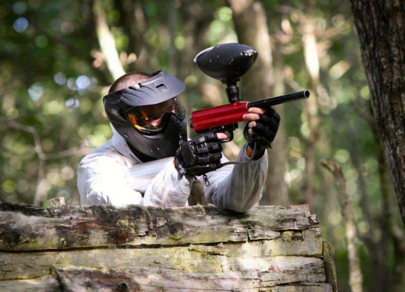 Camping Vendée : paintball vendee indian forest