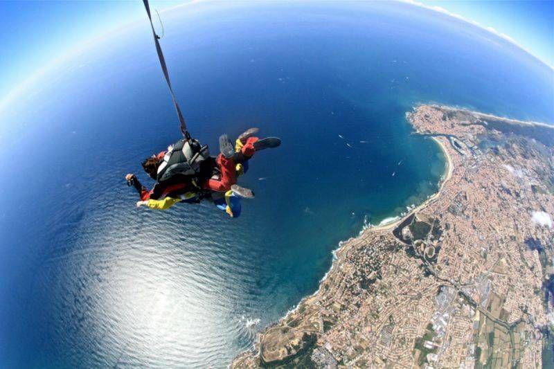 Préférence Camping Vendée avec saut en parachute - CAMPING LE CLOS DES PINS  XG56